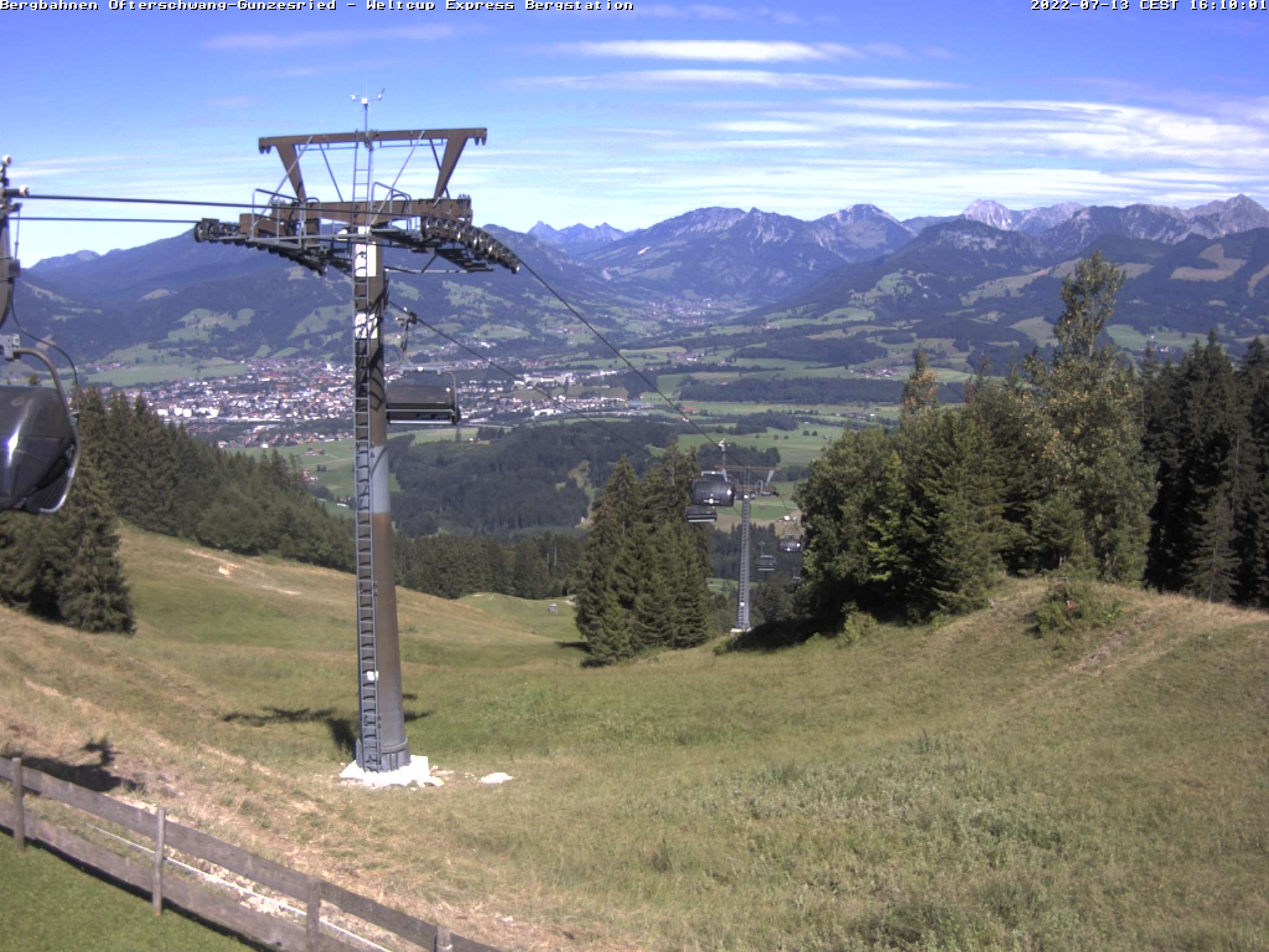 Webcam Bergstation Weltcup-Express