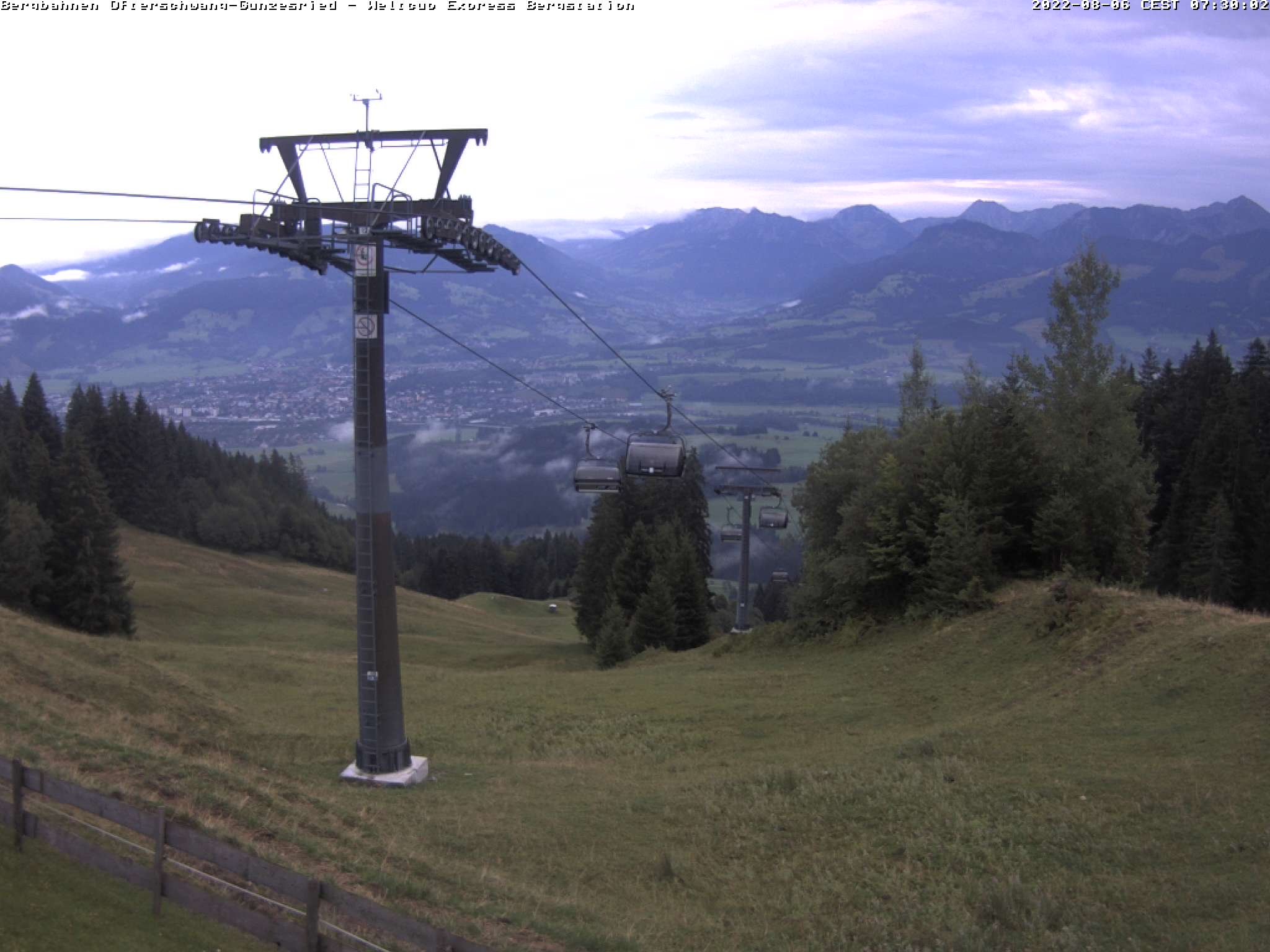Bild der Webcam Ofterschwang